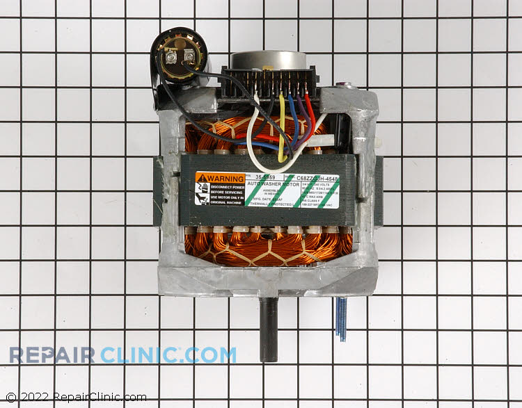 Drive Motor WP21001637 Alternate Product View