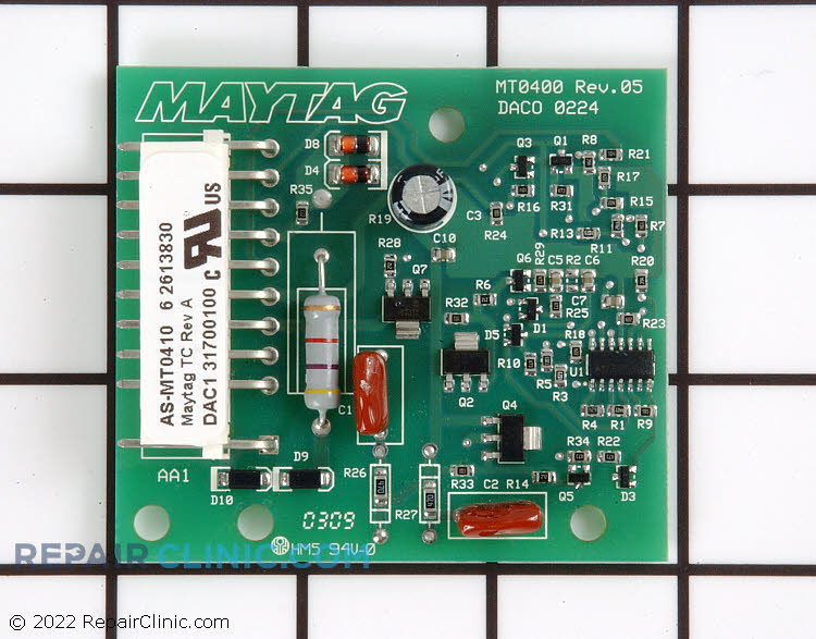 Main Control Board WP22003906 Alternate Product View
