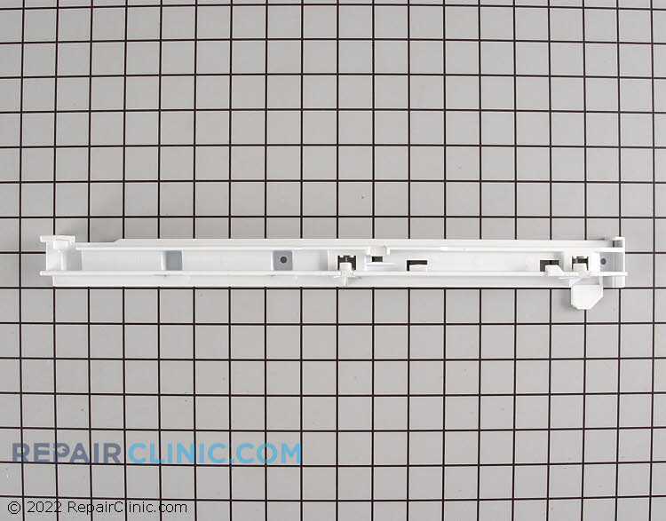 Refrigerator crisper drawer slide (rail) assembly for right hand side.