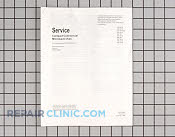 Manuals, Care Guides & Literature - Part # 220052 Mfg Part # RT2230003