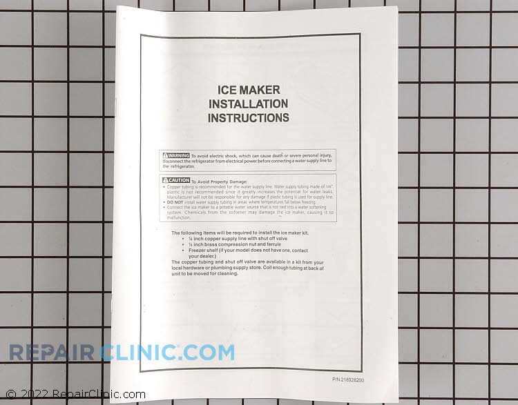 Ice Maker Assembly IM34            Alternate Product View