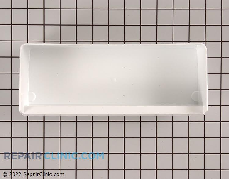 Refrigerator utility bin shelf