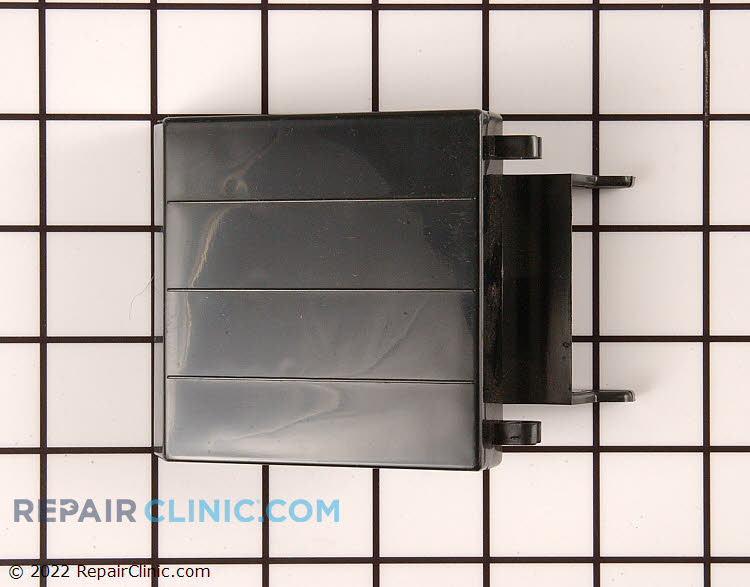 Ice door assembly for ice dispenser