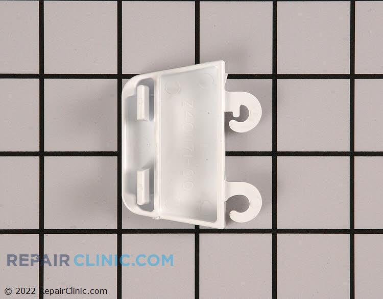 Refrigerator door shelf retainer bracket (left)