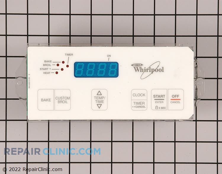 Oven Control Board WP6610463 Alternate Product View