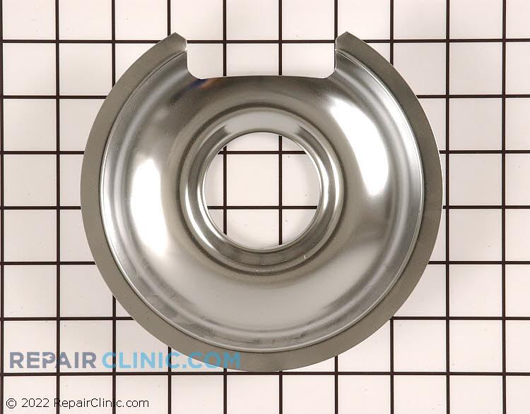 "6"" chrome drip bowl"