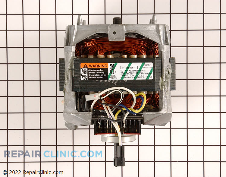 Drive Motor WP3352287 Alternate Product View