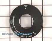 Knob Dial - Part # 1059399 Mfg Part # WP4457192