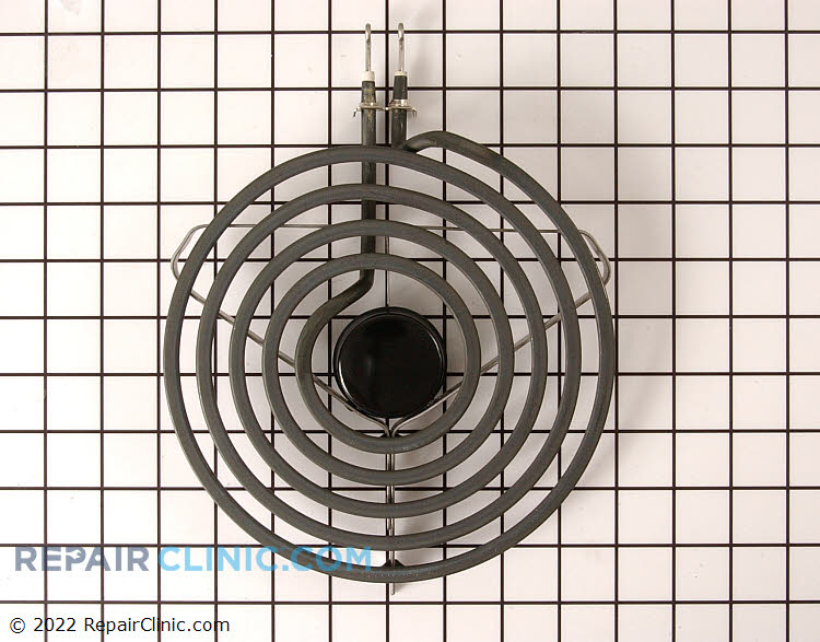 """8"""" surface element with black and chrome center, 5 turn"""