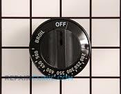 Thermostat Knob - Part # 242686 Mfg Part # WB03K10048