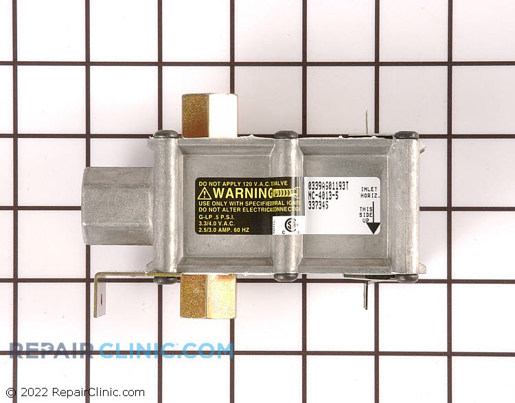 Oven safety valve, dual