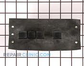 Push Button Switch - Part # 1877489 Mfg Part # WPW10330137