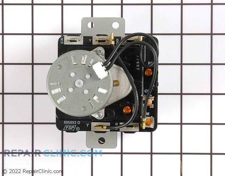 Dryer timer and resistor kit