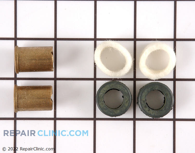 Drum bearing kit for bakelite impeller