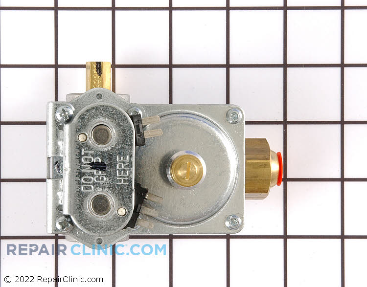 Gas valve assembly with electrical solenoids *Please call with serial number to verify correct part