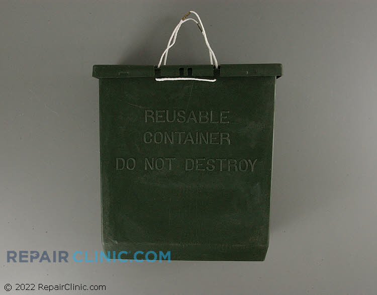 Trash, container (reusable)