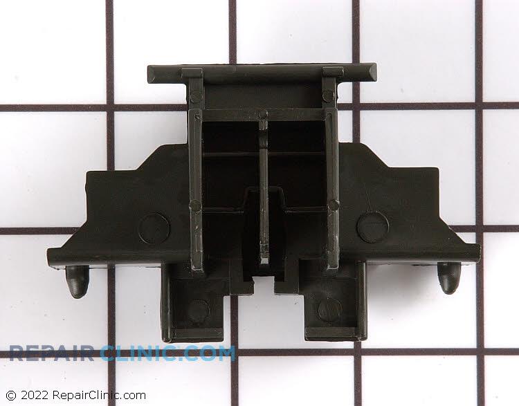 Dishwasher door latch body