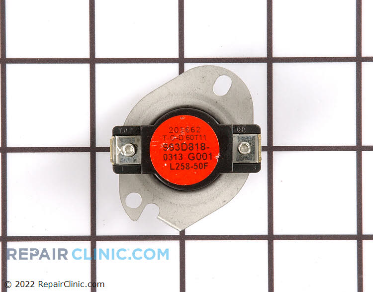 High Limit Thermostat WE4X584 Alternate Product View