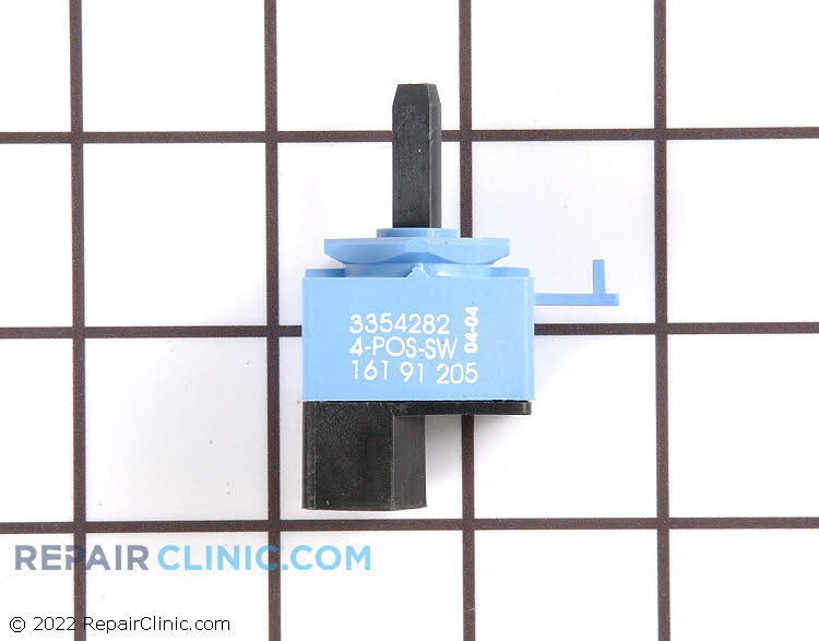 Cycle/speed selector switch, 4 position
