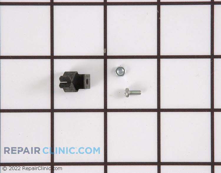 Surface burner stabilizer clip kit