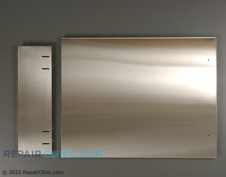 Side panel kit, stainless steel