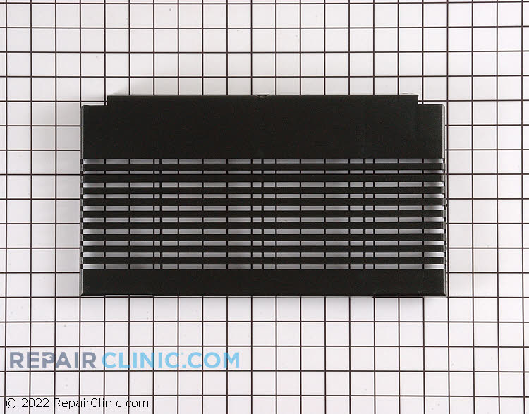 Grille cover, black