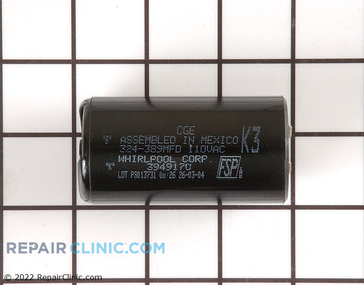 Start Capacitor WP8572720 Alternate Product View