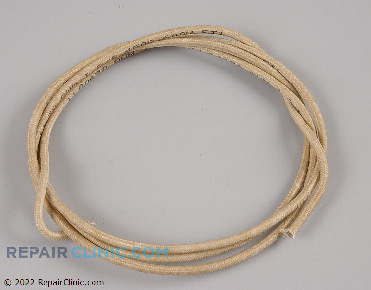 Generic replacement 12 gauge high temperature wire, five feet long, 450 degrees Celcius, 842 degrees Fahrenheit.