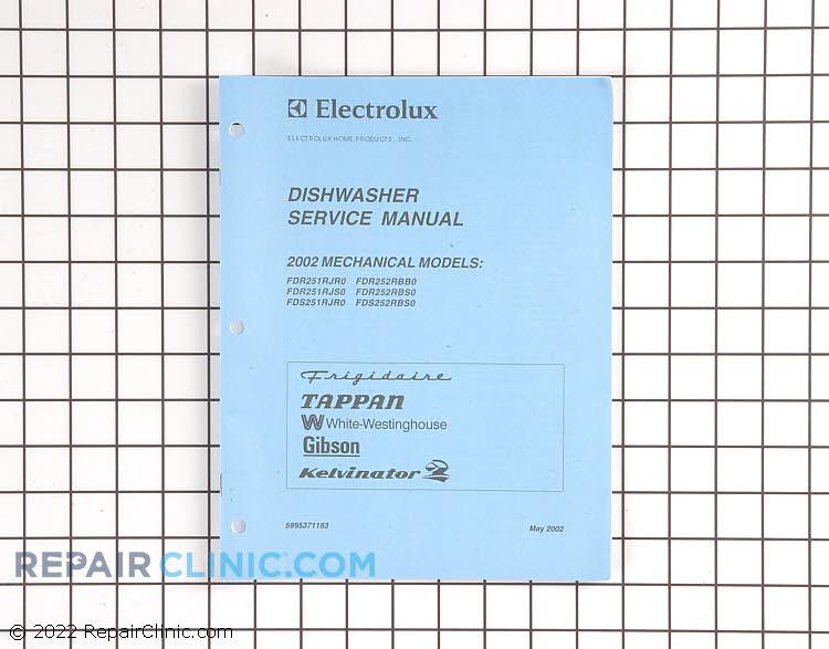 Repair Manual 5995371183      Alternate Product View