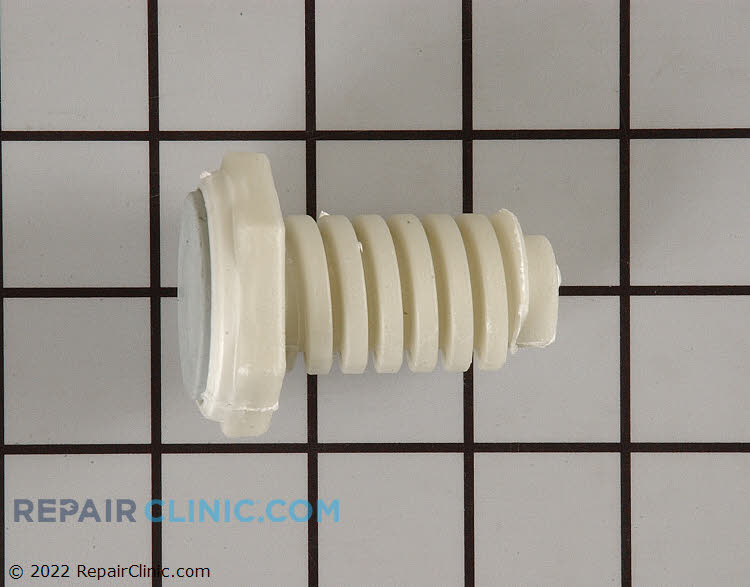 Washer and dryer leveling leg