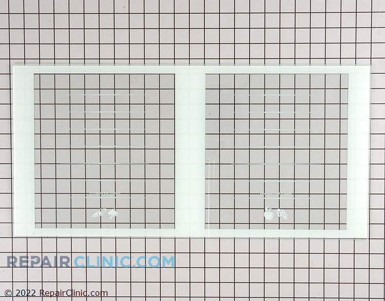 Glass Crisper Cover WR32X10482 Alternate Product View