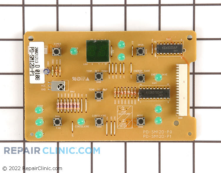 Display Board PD-SM12D-P1 Alternate Product View