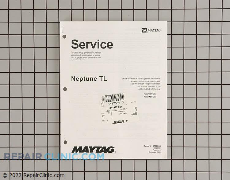 Repair Manual 16022808 Alternate Product View