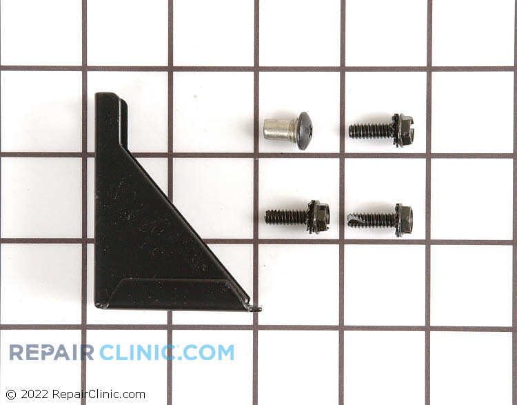 Bottom Hinge 11695-S-BLK Alternate Product View