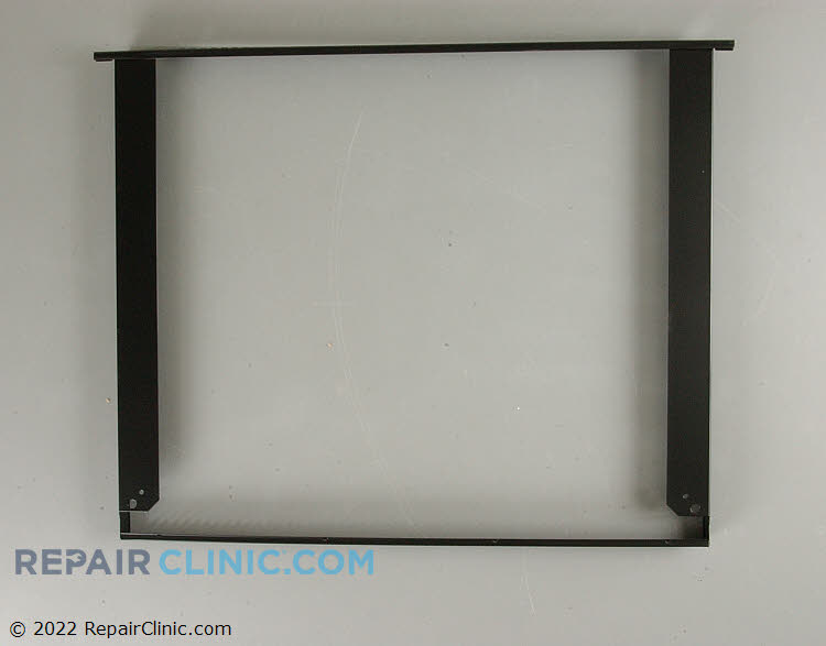 Oven door frame assy (black) WB55T10024 Alternate Product View