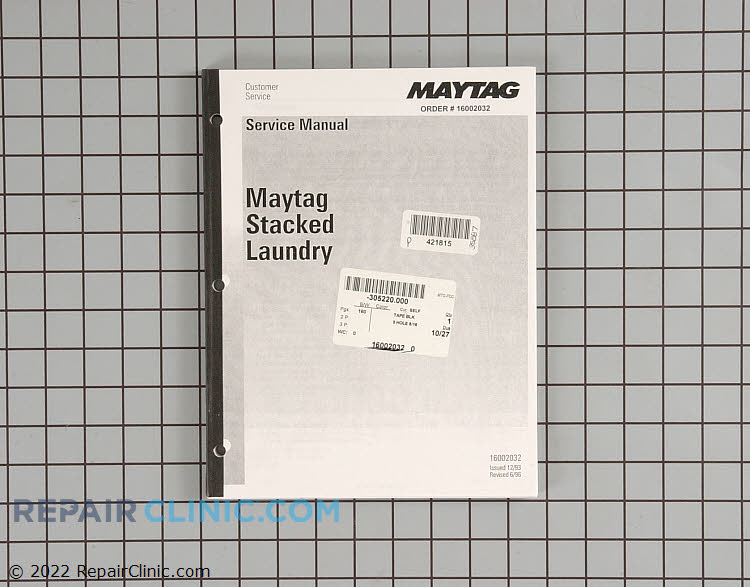 Manuals, Care Guides & Literature 16002032 Alternate Product View