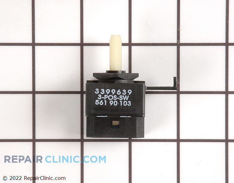 Selector Switch WP3399639 Alternate Product View
