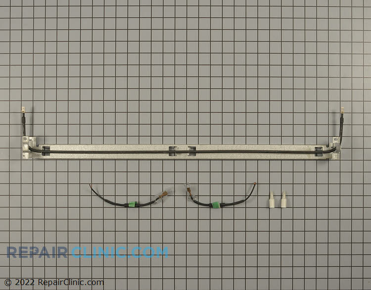 Defrost heater kit with wires and crimp connectors *Measures 26.5 inches