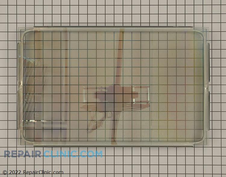 Oven door glass kit.