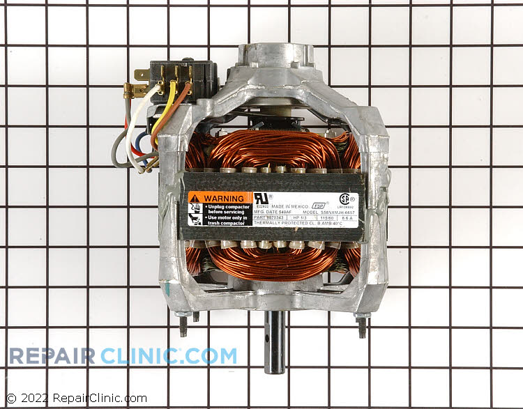 Drive Motor WC36X5062       Alternate Product View
