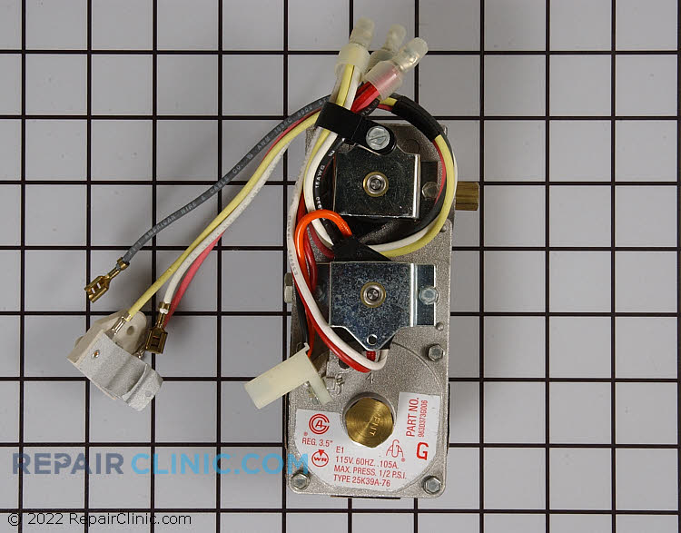 Gas Valve Assembly WE14X141 Alternate Product View