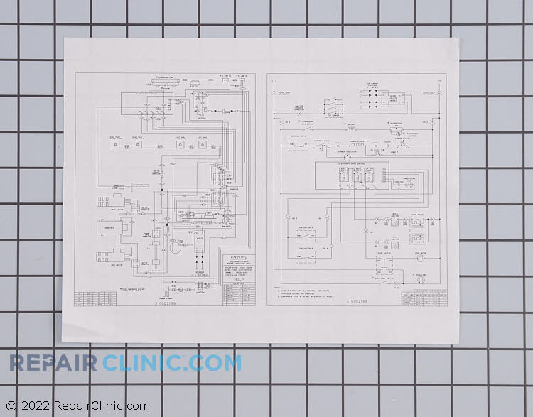 Wiring Diagram 316002169 Alternate Product View
