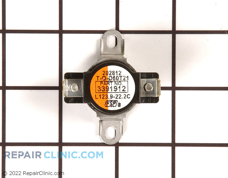 High Limit Thermostat WP3391912 Alternate Product View