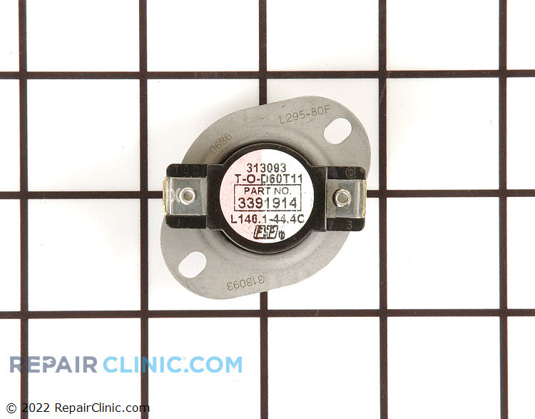 High Limit Thermostat WP3391914 Alternate Product View