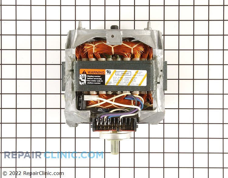 Drive Motor WP3950297 Alternate Product View