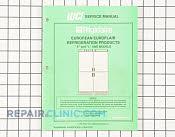 Repair Manual - Part # 657828 Mfg Part # 5995201422