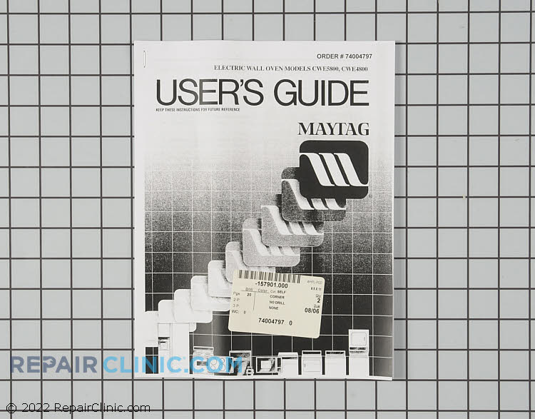 Owner's Manual 74004797 Alternate Product View