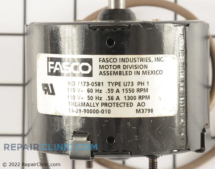Fan Motor 112990000010 Alternate Product View