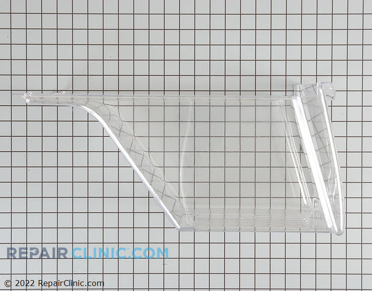 Crisper drawer, clear 240337103