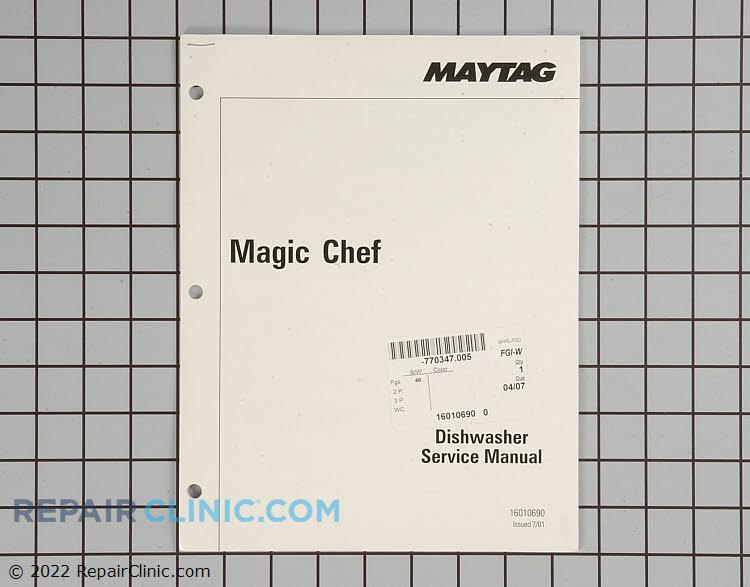 Repair Manual 16010690 Alternate Product View